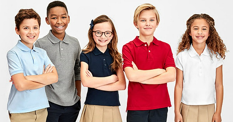 Uniform Polos Only $4 at The Children's Place + FREE Shipping!