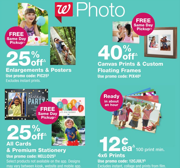 Walgreens Photo Deals 60 Off Everything For The Wall More