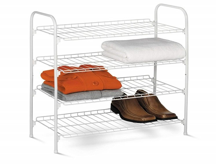 wire shoe accessory rack