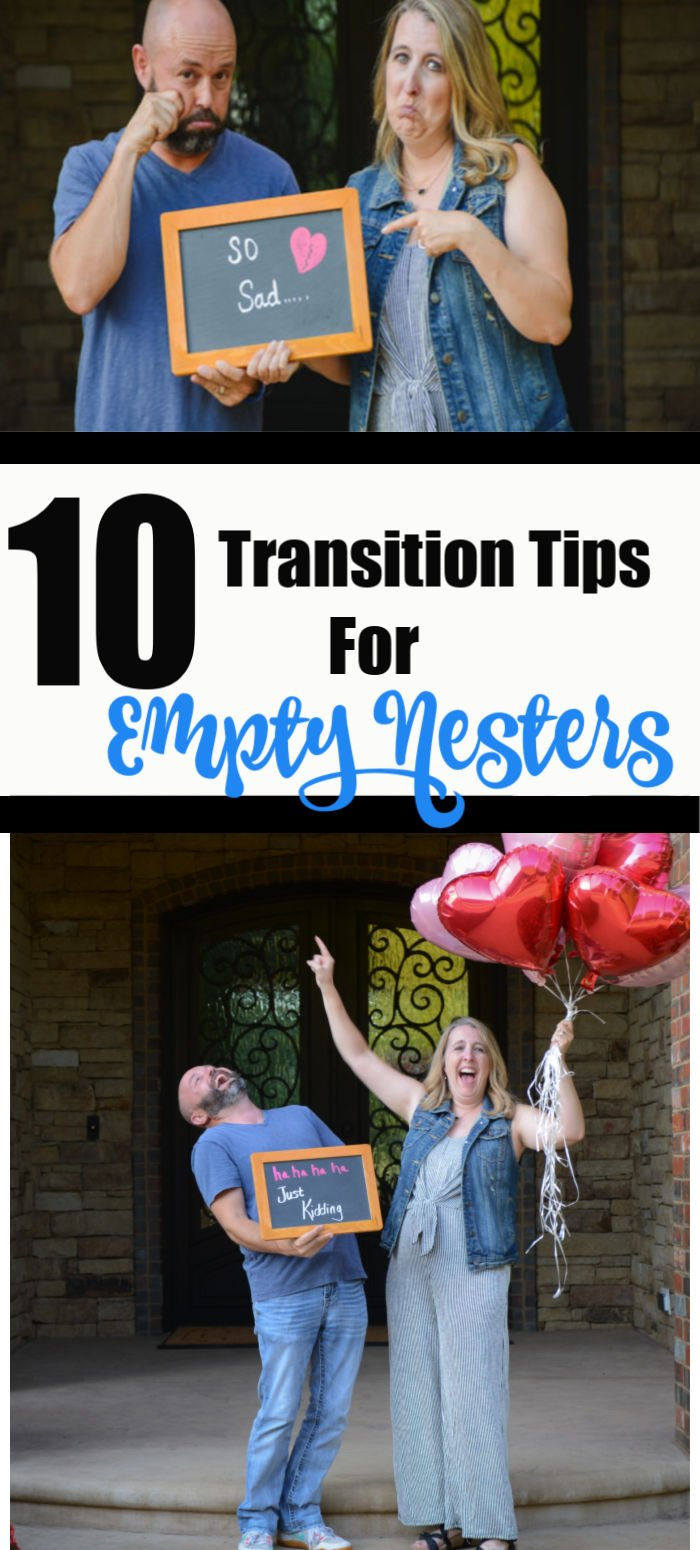 10 Transition Tips for Empty Nesters