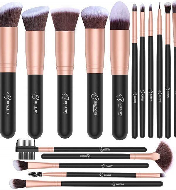16 piece makeup brush set on amazon