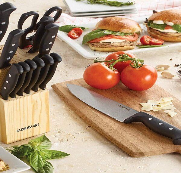 22 piece cutlery set