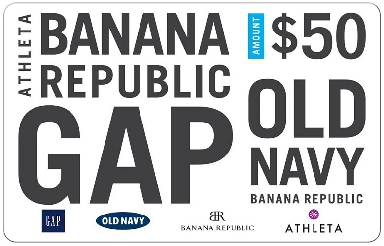 $50 Gap Gift Cards Only $40 at Staples – Hurry!