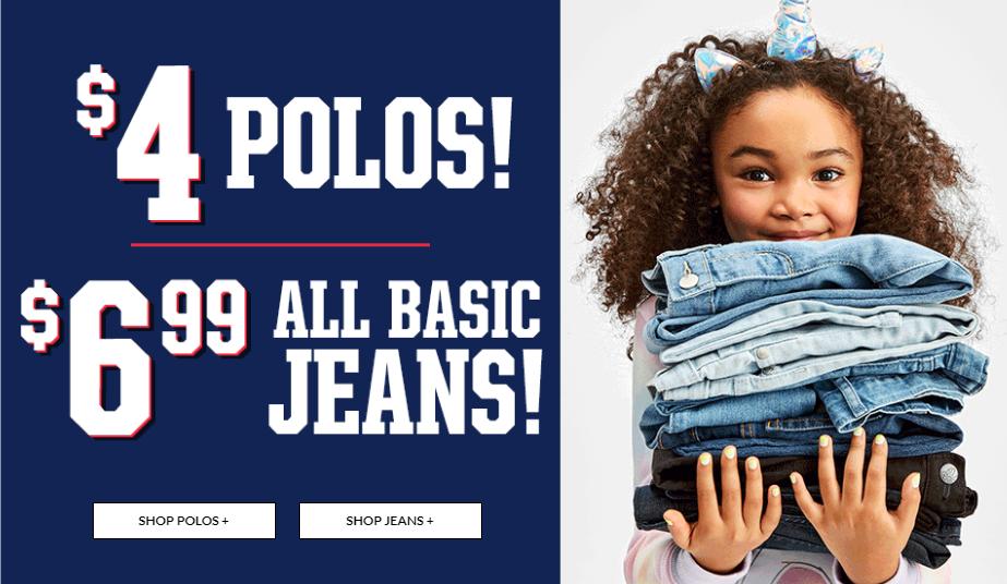 Jeans Sale Children's Place