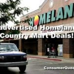unadvertised Homeland & Country Mart deals