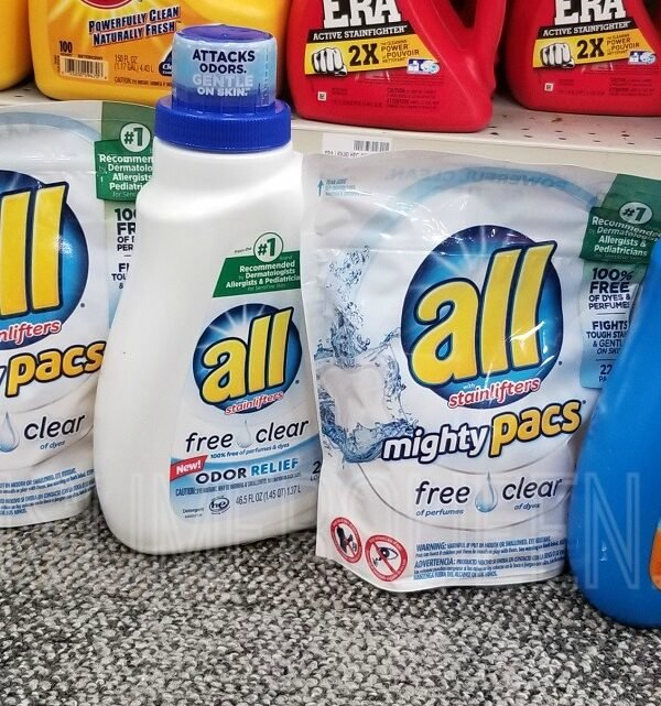 all detergent at cvs