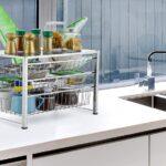 bextsware cabinet basket organizer