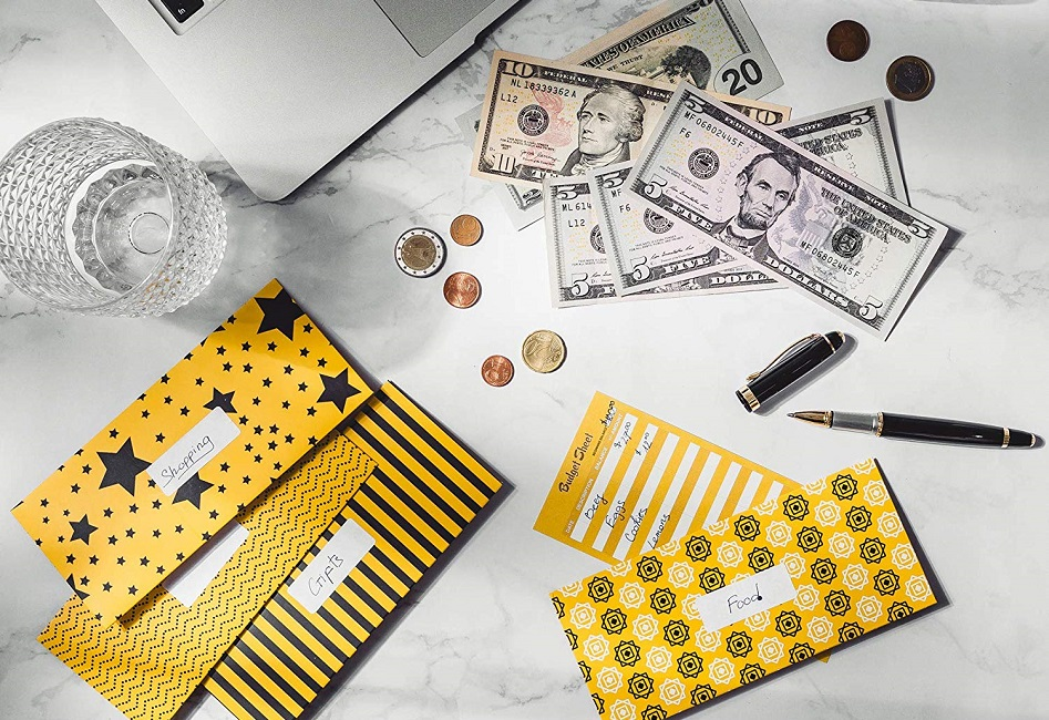 Budget Envelopes + eBook Saving Money Tips $6.95 on Amazon