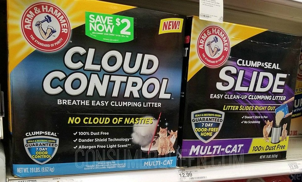 cloud control cat litter at walmart