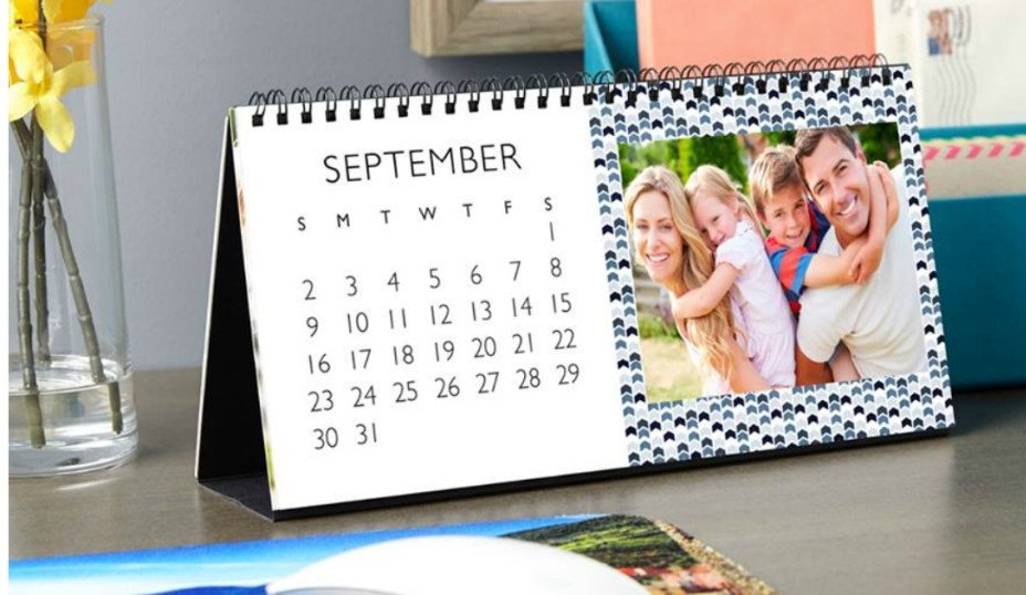 Desk Top Photo Calendar (4×6 inch) Only $1.99 at Walgreens