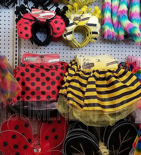 Girls Halloween Costumes as Low as $2 ($1 Each Piece) at Dollar Tree!