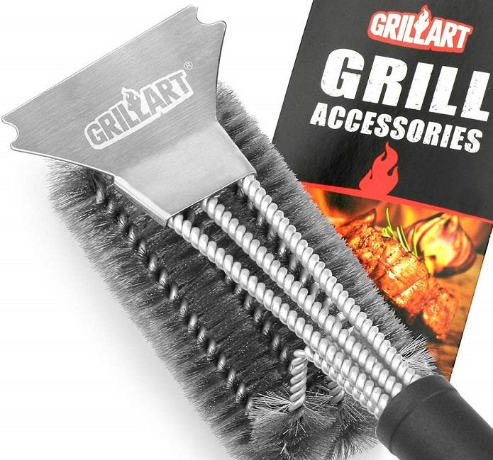 Grillart Grill Brush & Scraper $14.42 (Reg. $22.95) on Amazon
