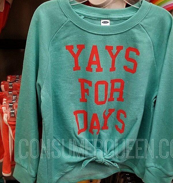old navy sweatshirts