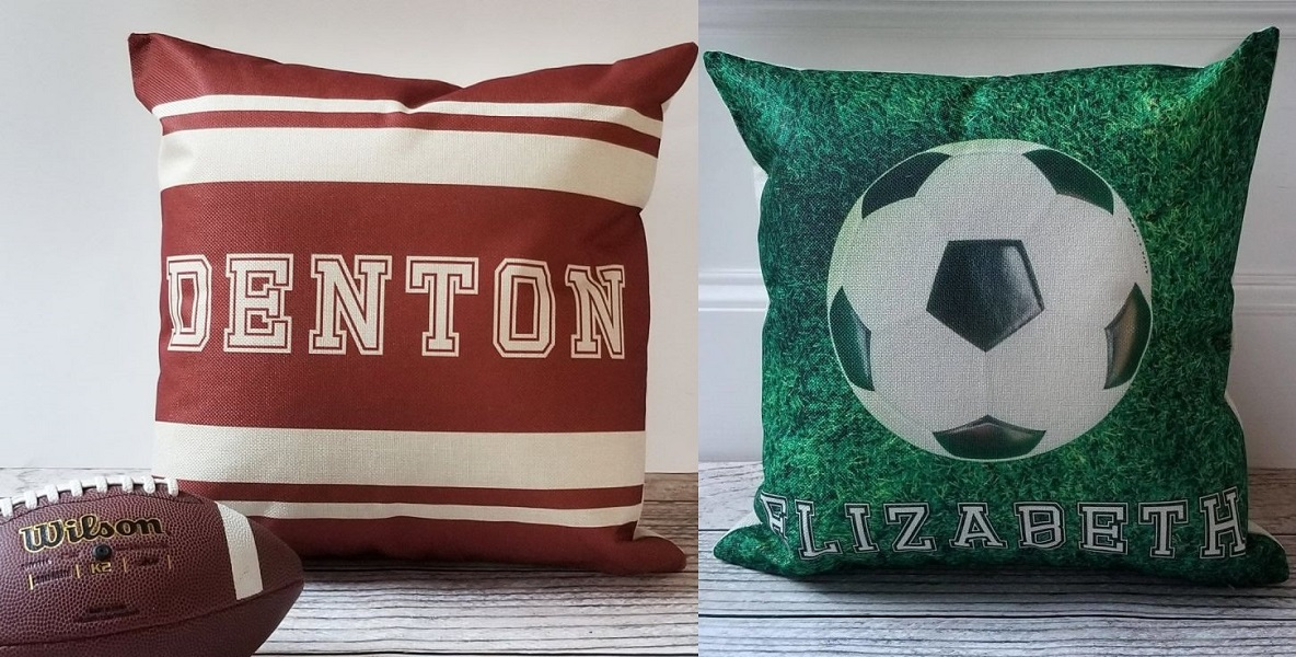 personalized ball pillow covers
