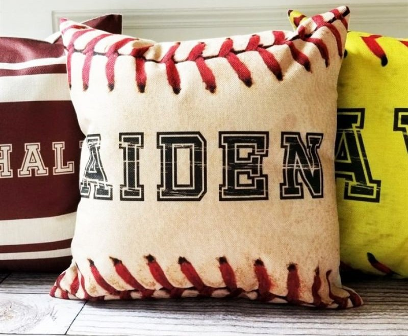 personalized ball pillow cover