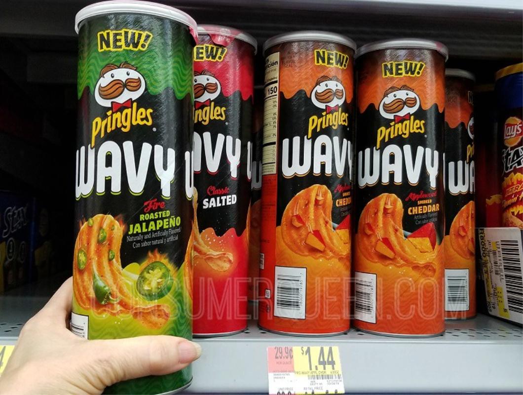 Pringles Wavy Potato Crisps FREE at Walmart After Cash Back
