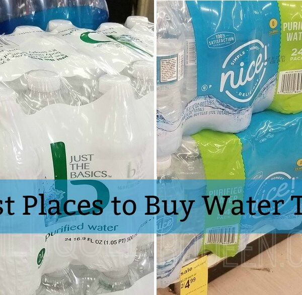 Bottled Water – The Four Best Places to Buy it This Week!
