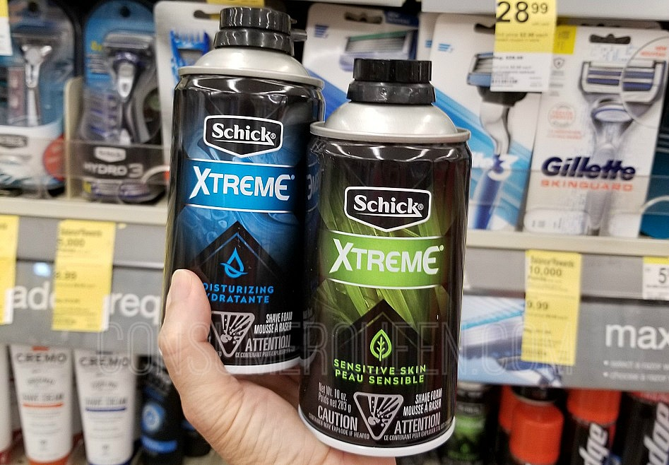 Schick Xtreme Shave Foam FREE + More at Walgreens