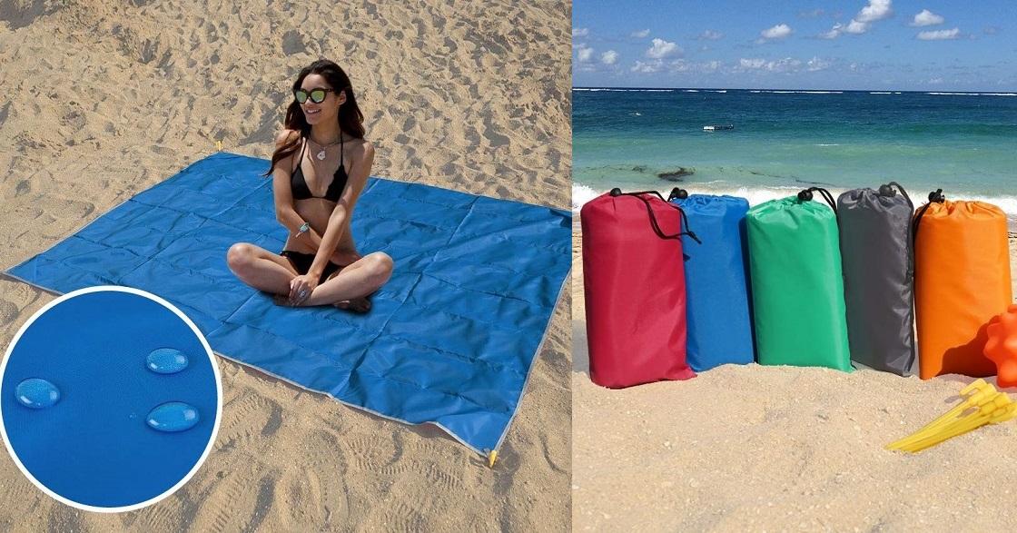 Waterproof Beach Pocket Blanket as Low as $15.79 on Amazon