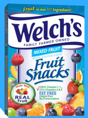 welchs snacks