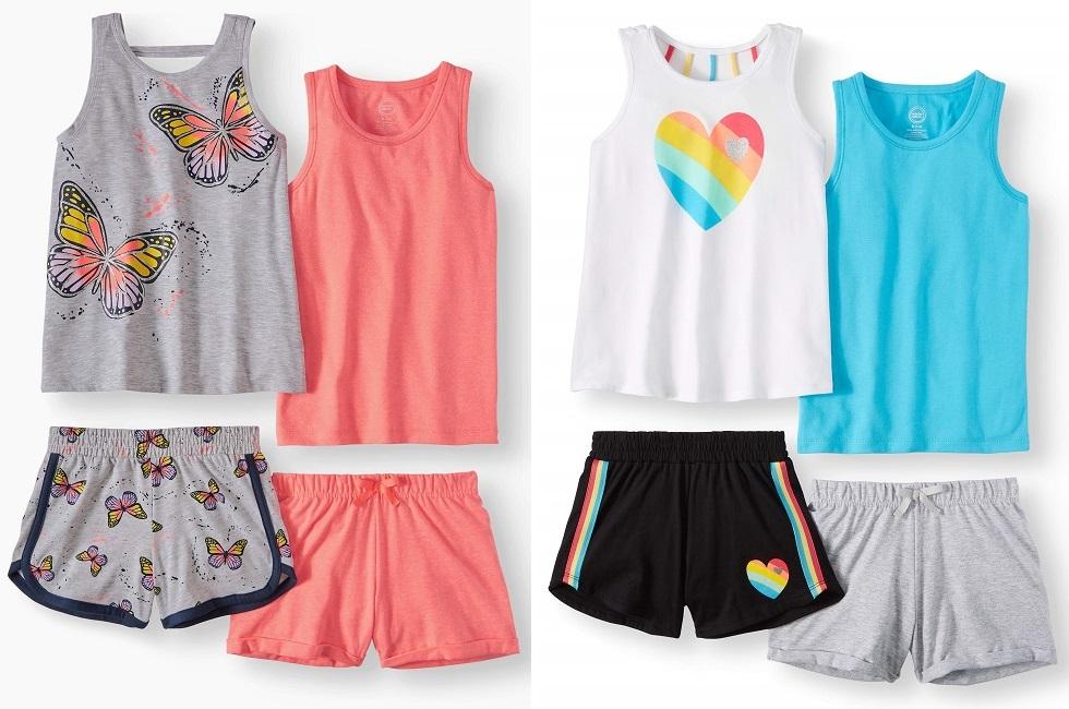 Wonder Nation 4 Piece Shorts & Tees $6 (Reg. $15.84) at Walmart