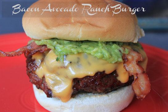 Bacon Avacado Ranch Burger