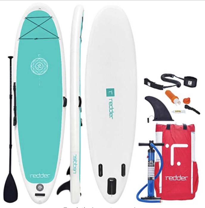 Inflatable Stand-Up Paddle Board for yoga – $149 on Amazon. 70% off!