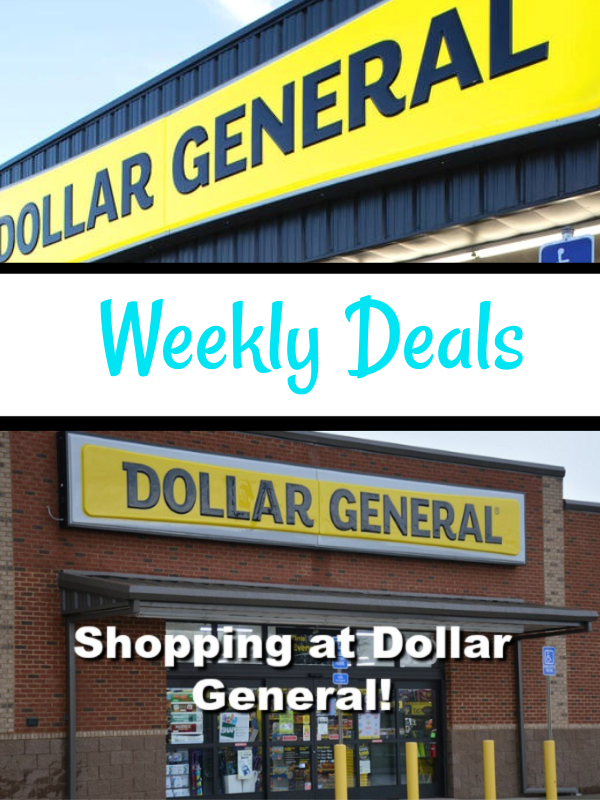 Top Dollar General Deals For 2/9 – 2/15