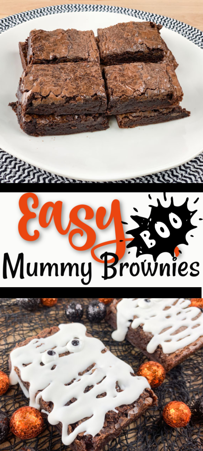 Easy Mummy Brownies
