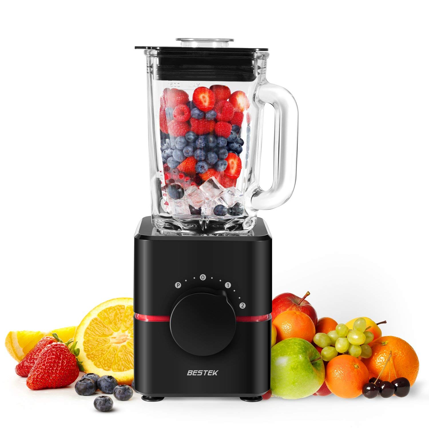 Electric Glass Blender, Professional Food Processor – 62% off on Amazon! Just $19
