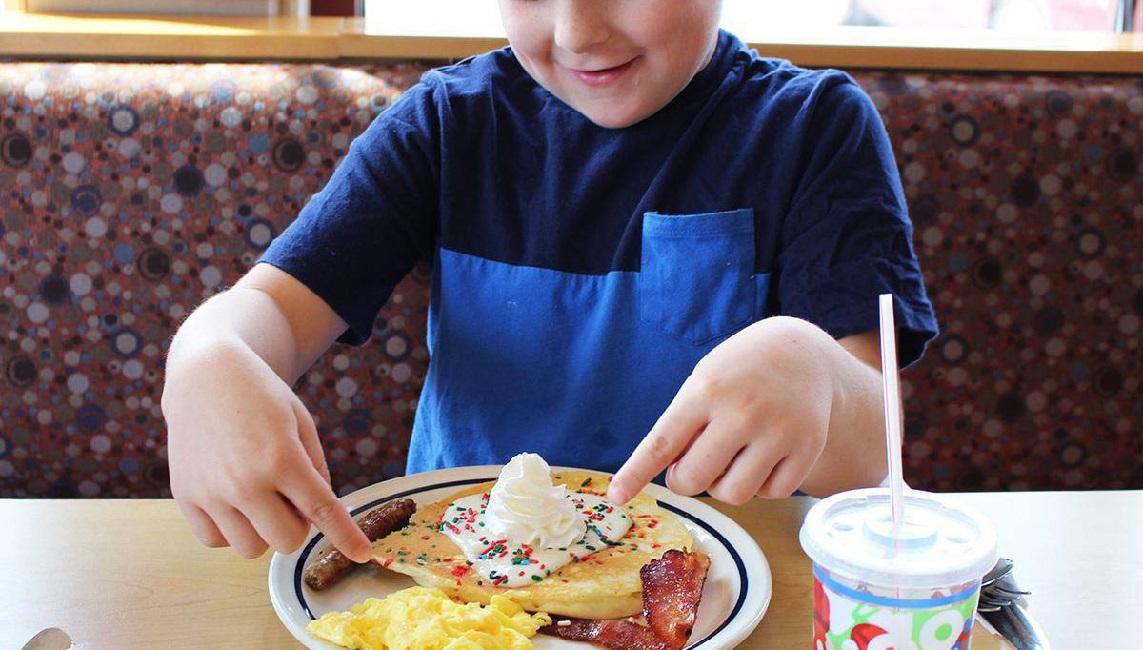 Free IHOP kids meal