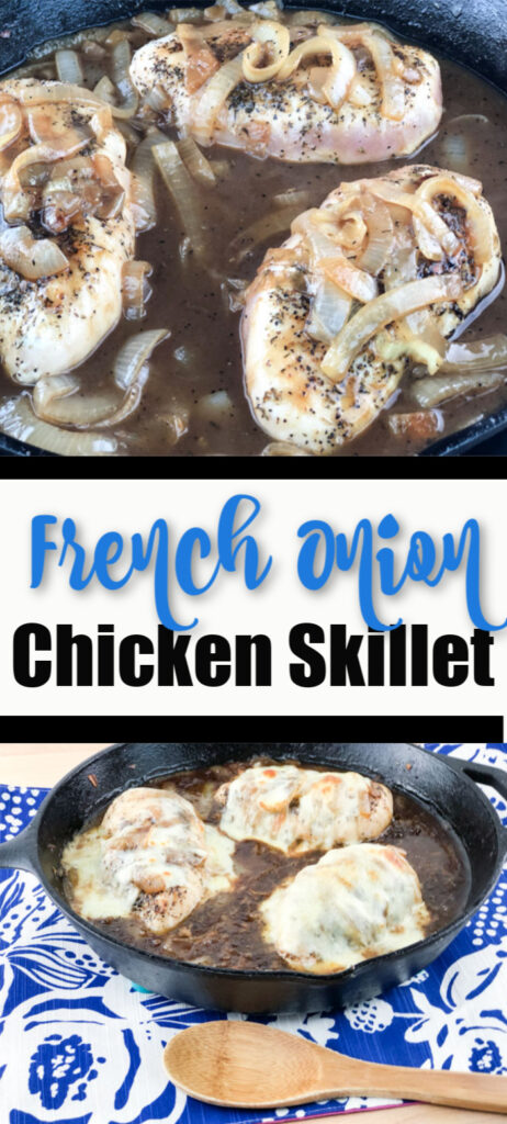 French Onion Chicken Skillet