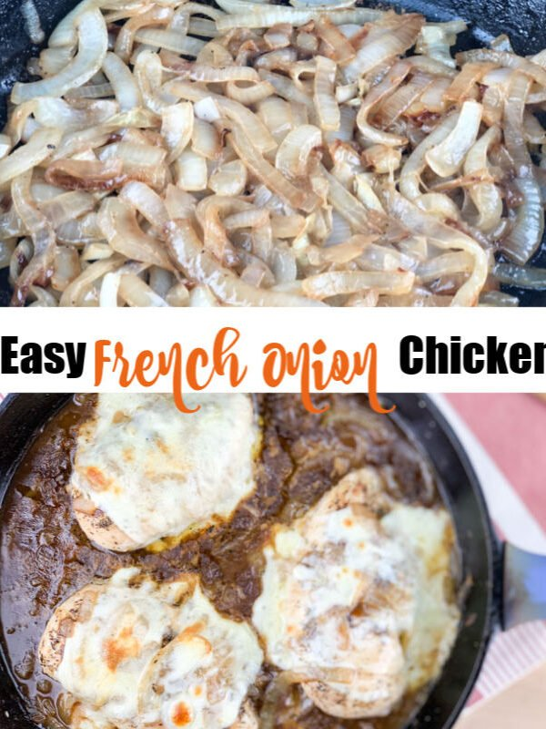 French Onion Skillet Chicken