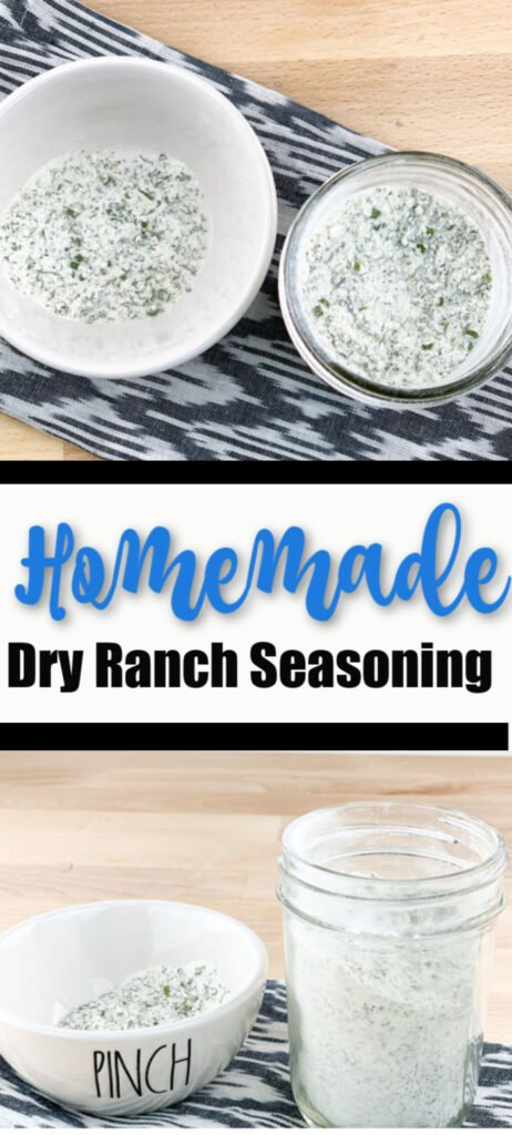 Homemade Ranch Seasoning Mix Pinterest