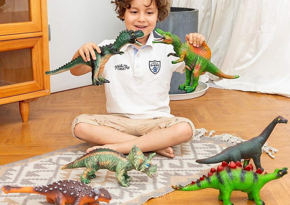 Jumbo Roaring Dinosaurs 6-Pack Only $13.96 on Amazon