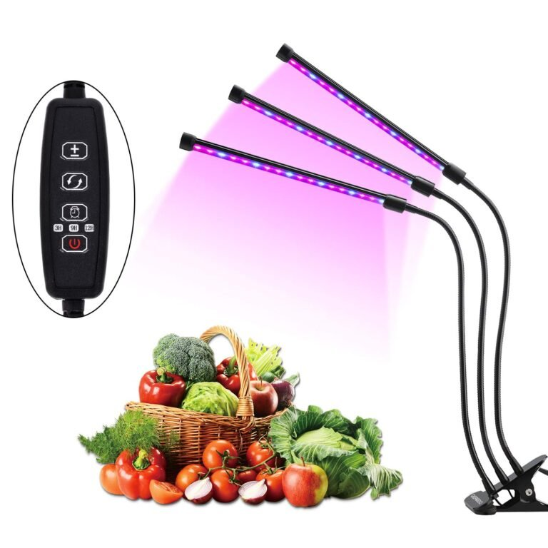 LED Grow Light for Indoor Gardening – 75% off on Amazon! Just $7.75
