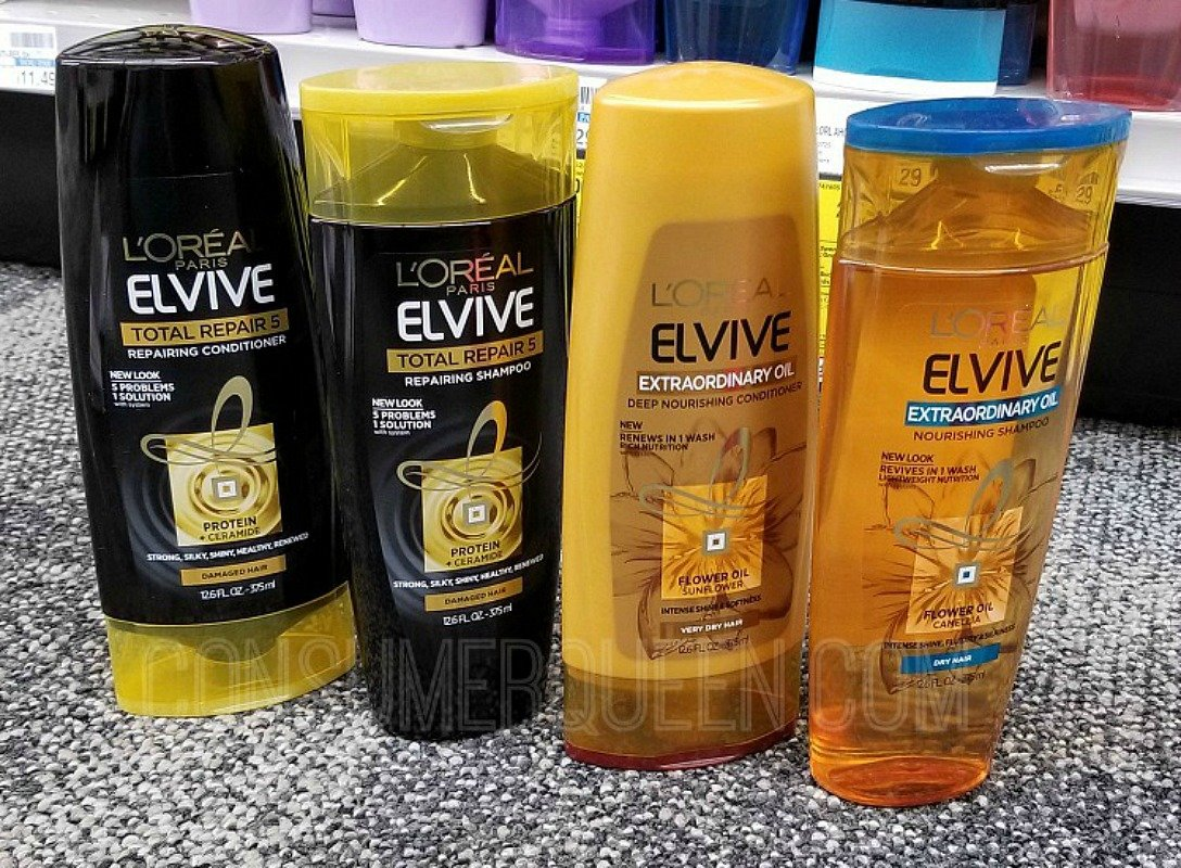 L'Oreal Elvive Hair Care $1.19 at Target