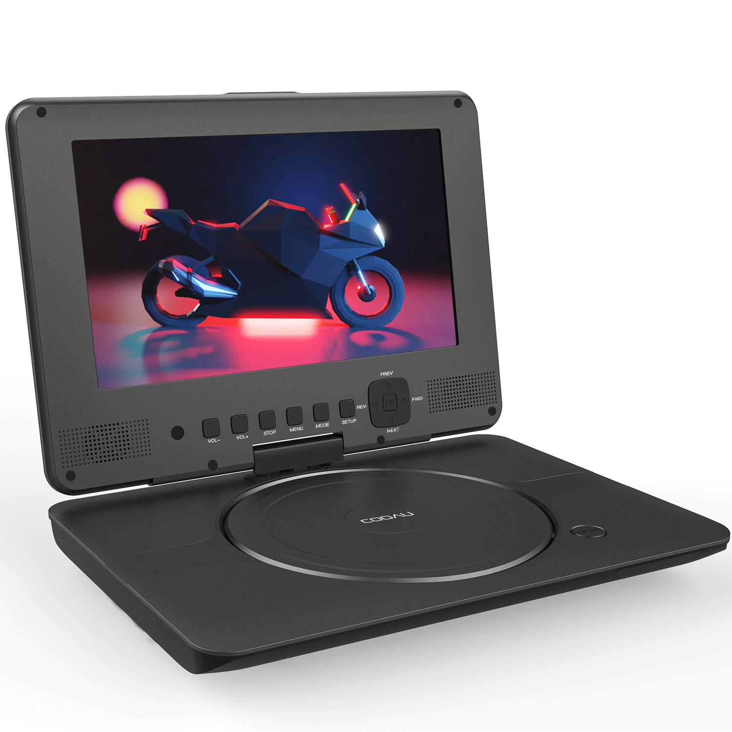 Personal DVD Player with swivel HD screen – just $30 on Amazon! 70% off