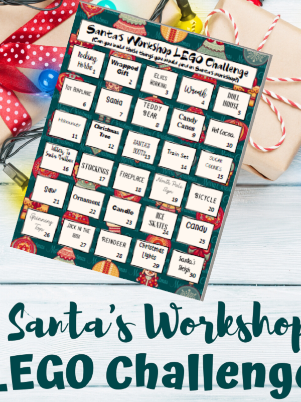 Santa's Workshop Printable