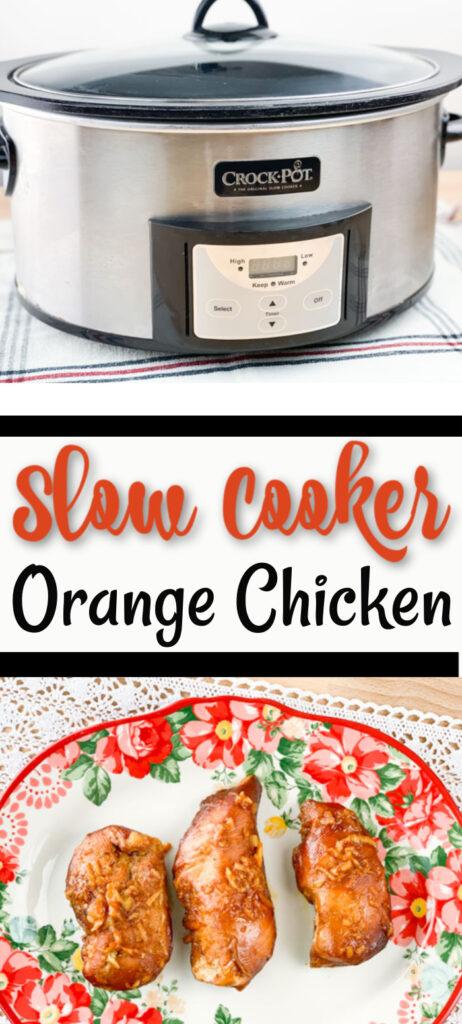 Slow Cooker Orange Chicken Pinterest
