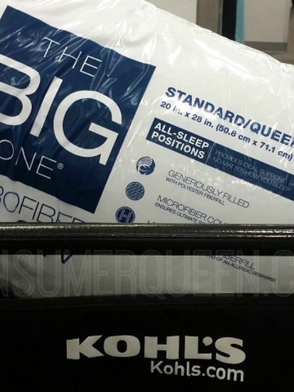 The Big One Pillows as Low as $3.19 at Kohl's!
