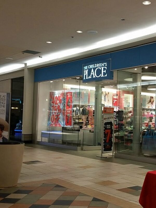 80% off clearance at the childrens place