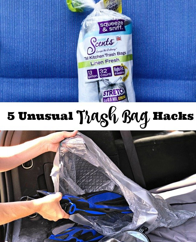 5 Unusual Trash Bag Hacks