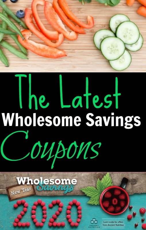 Wholesome Savings Coupons Now Available, Redeem at Whole Foods
