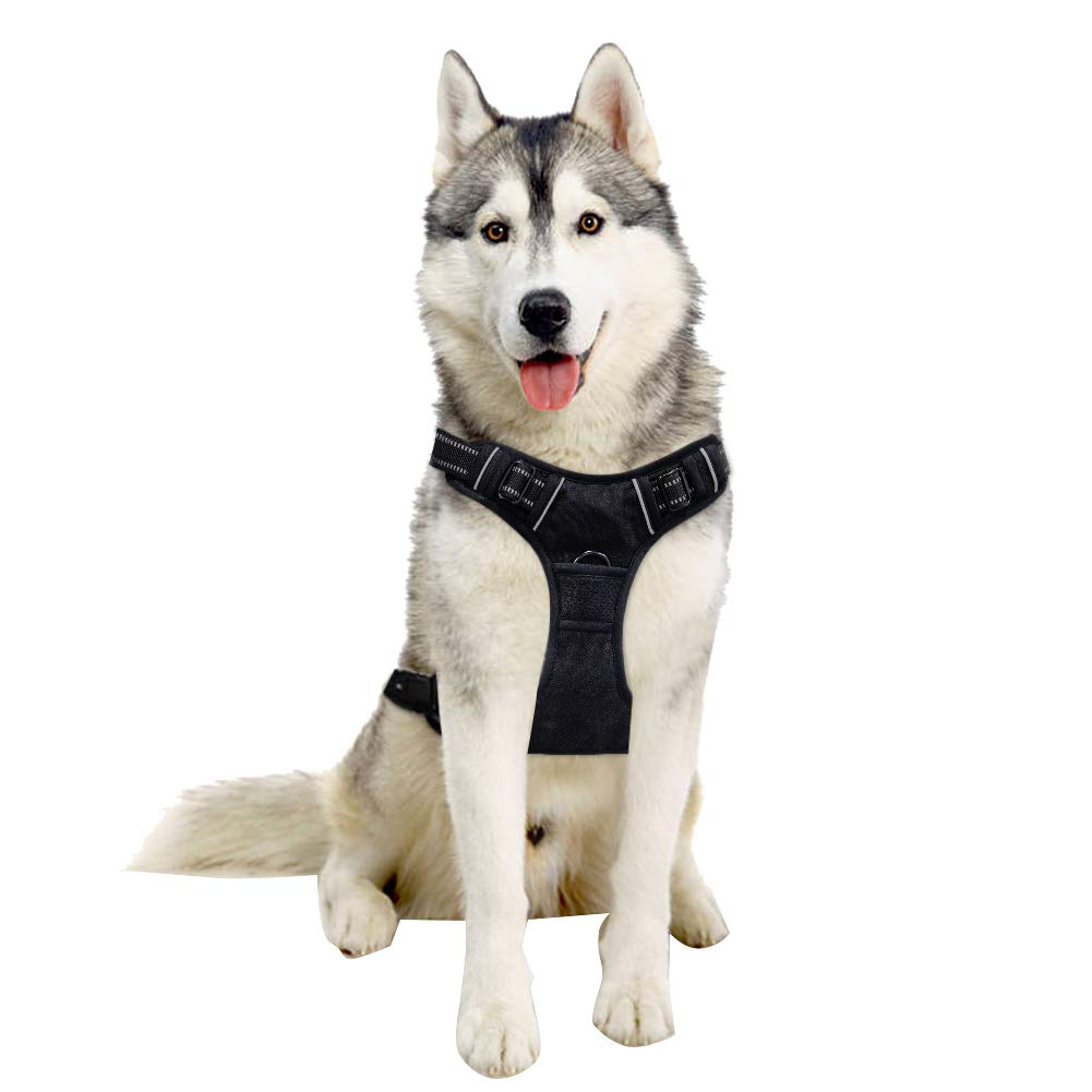 Adjustable Pet Harness for dogs of all sizes! 60% off, just $7.20 on Amazon