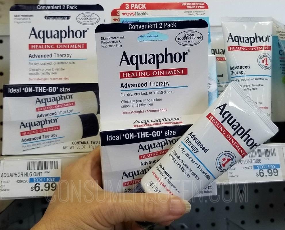 Aquaphor Healing Ointment Only $1.66 at CVS After Rewards (Reg. $6.99!)