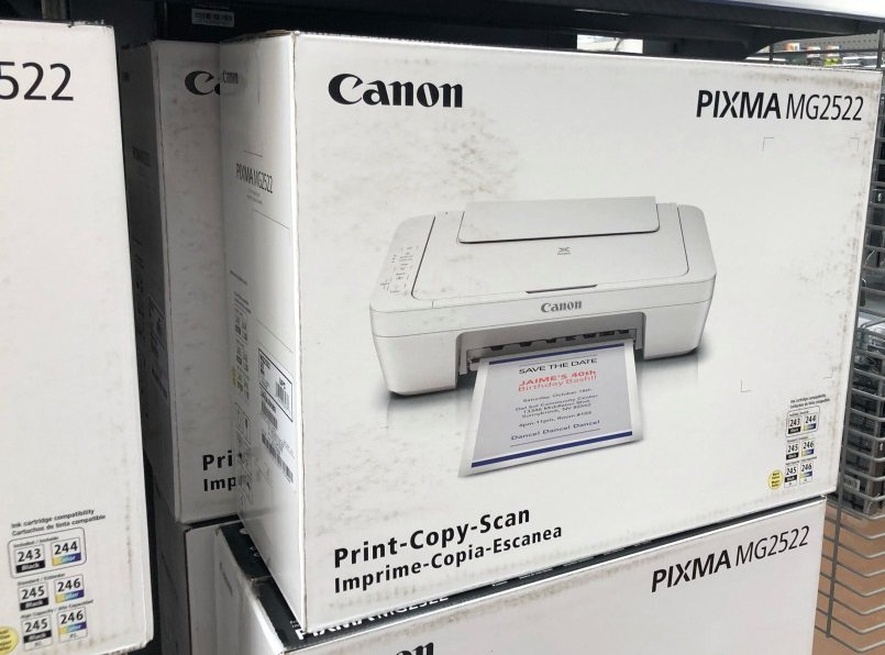 Cannon All-in-One Color Inkjet Printer $19 (Reg. $35) at Walmart!