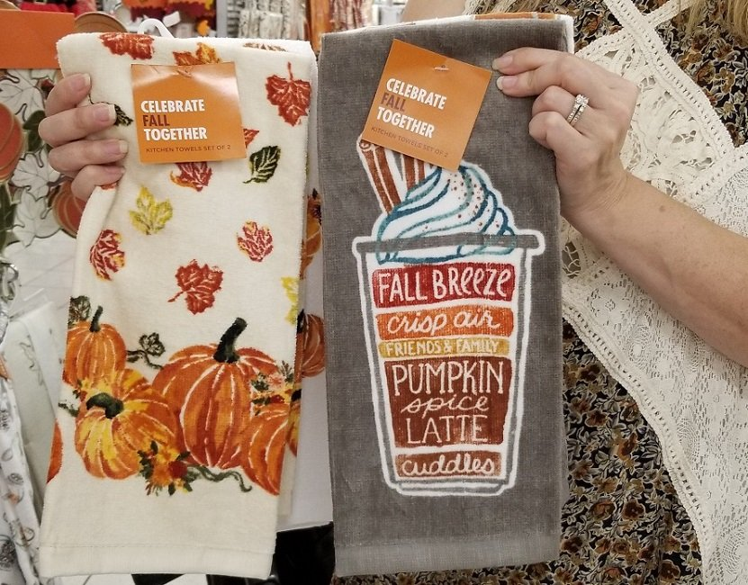 Celebrate Fall Kitchen Towels 2 Pk As Low As 4 89 Shipped