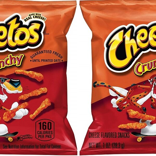 cheetos crunchy 40 count on amazon