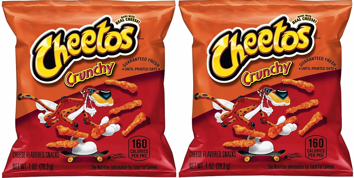 Cheetos Crunchy 40 Count $8.64 After Coupon on Amazon!